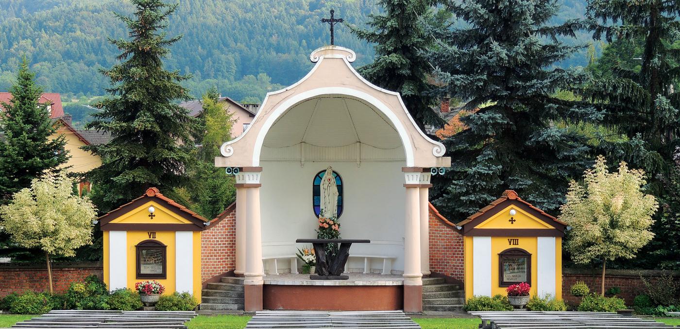 Ołtarz polowy m. in. do Nabożeństw Fatimskich w Inwałdzie